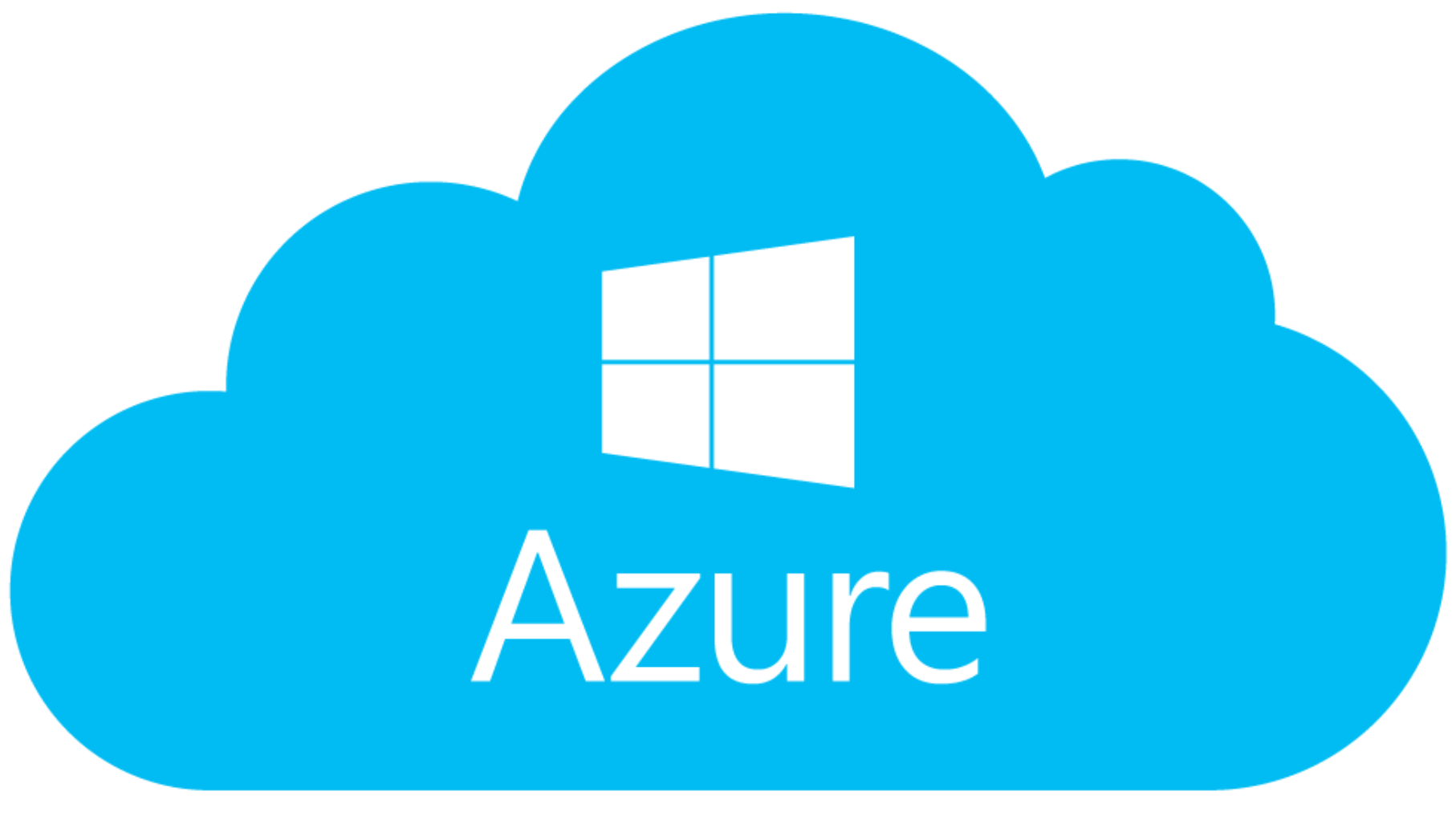 The logo of Microsoft's Azure Marketplace, where you can get started for free with ScaiData's self-service ScaiPlatform for cloud business intelligence and data management and connect to your existing Azure SQL infrastructure